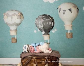 Newborn infant aviator pilot hat, baby aviator hat, infant aviator hat, baby pilot hat, newborn photo prop, baby pilot, pilot