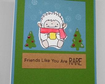 Beast friends are rare