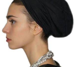 Tichel volumizer with anti slip headband, perfect for your tichel, head covering, head scarf