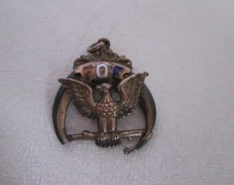 Vintage medal FOE the fraternal order of Eagles