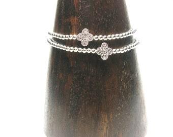 Zirconia Flower - Bracelet