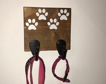Dog hook, dog leash holder, dog leash hook, dog collar hook