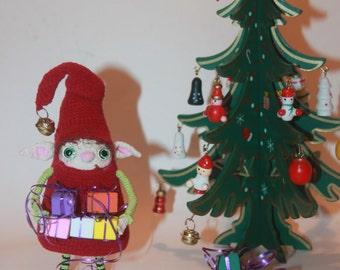 Elf.  Christmas tree toy.