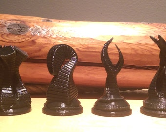 Alien Life Chess Set (3D Printed)
