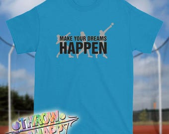 Track and Field Thrower Shirt, Make Your Dreams Happen Shot Put Throw T-Shirt