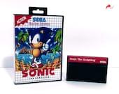 Sonic The Hedgehog Reproduction (Sega Master System, 1992) Repro