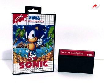 Sonic The Hedgehog Reproduction (Sega Master System, 1992) Repro