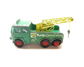 Matchbox King Series #12 Foden Breakdown Tractor   Die-cast  Made in England