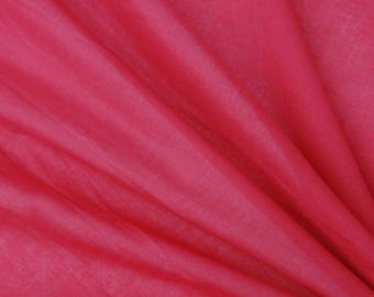 """Crimson Red Fabric, Dress Material, Upholstery Fabric, Sewing Decor, Quilt Fabric, 40"""" Inch Cotton Fabric By The Yard ZBC7560O"""