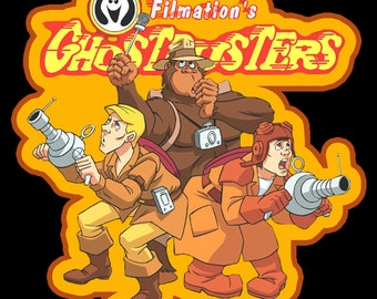 80's Cartoon Classic Filmation's Ghostbusters The Guys custom tee Any Size Any Color