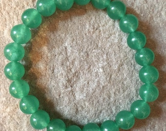 Genuine green Aventurine bracelet green bracelet beaded gemstone bracelet natural Stone bracelet 8mm bracelet
