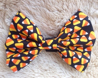 Candy Corn Collar Bow