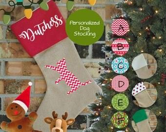 Playful Cat Christmas Stocking