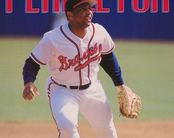 Terry Pendleton Atlanta Braves 1993  Poster