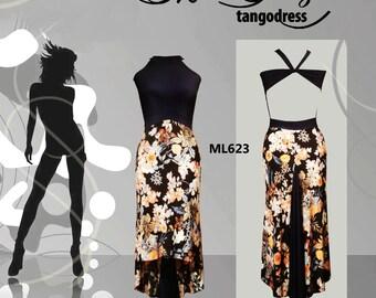 Milonga Tango Dress Mimi Pinzon