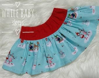 Twirly Skirt Size 2 Christmas Elf