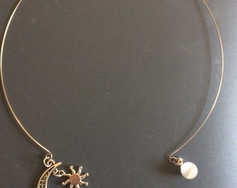 Memory wire necklace