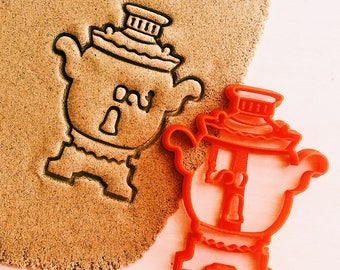 cc0427 Samovar Cookie Cutter samovar russian kettle cookiecutter cookies any shape any size