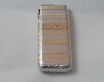 Vintage Colibri Lighter Gold and Silver Color Working