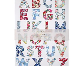 Meri Meri: Liberty Large Alphabet Stickers