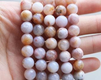 8mm Australian Agate,Australian Gemstone, Agate Beads, Round Agate Beads, Agate Stone, Natural Agate, Agate 8mm Round, GS005