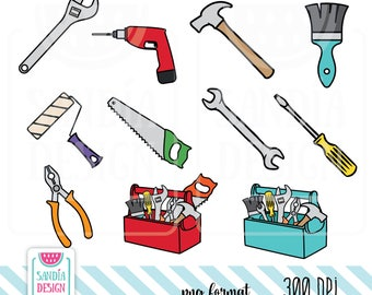Tools Clipart. Personal and comercial use.