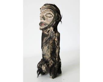 Fetish Nkisi monkey statuette, Congo