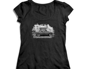Artsy car shirt - Hipster tshirt - Funny graphic shirt - Festival shirt - Gifts - Car