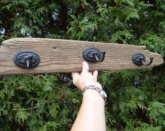 Driftwood Hat Rack, driftwood coat rack, driftwood art, hall hat rack, rustic hat rack, rustic coat rack, coat rack, hat rack, driftwood