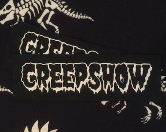 Hand Painted Classic Horror Creepshow Patch