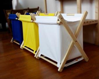 A set of three baskets for toys Hamper Box  Laundry basket Оrganiser Toy storage Laundry basket