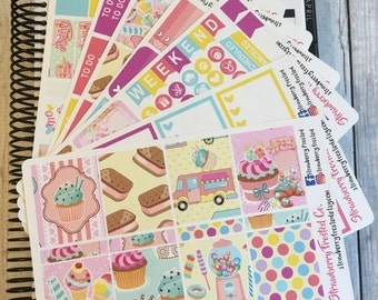 Sweets Bakery Themed Kit---- Weekly Planner Kit ---- {Includes 250+ Stickers}