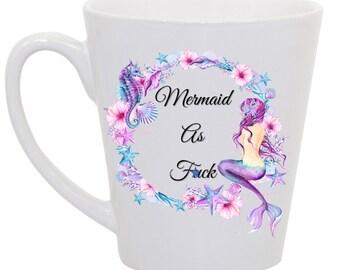 Mermaid as F*ck Mug