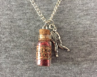 Handmade Walking Dead Inspired Necklace