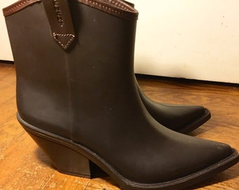 Vintage Ankle Boots Made in Italy