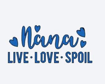 Mom Gift - Grandma Decal - Nana Decal - Decal For Grandma - Grandma Gift - Nana Gift