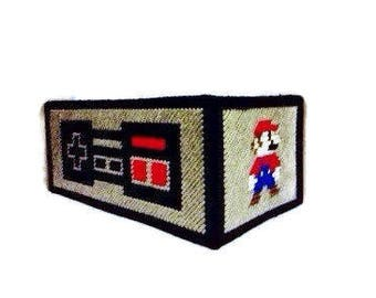 NES (Nintedo) Controller / Mario / Luigi Tissue Box Cover