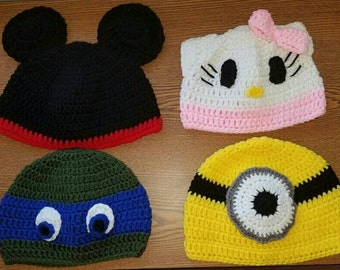 Character-inspired Hats