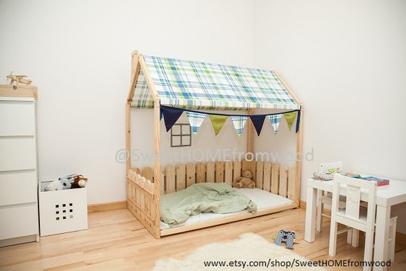 Toddler Bed Twin Children Bed House Bed With By
