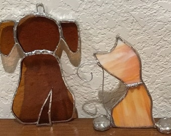 Stain Glass Doggy
