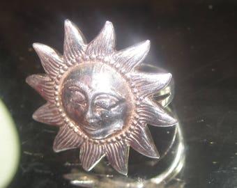 E-114 Vintage Ring size 8 925 silver