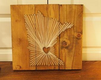 Minnesota String Art