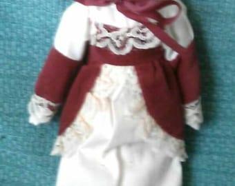 Swedish Mini Porcelain Doll