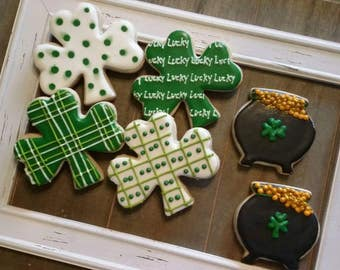 St. Patrick's Day cookies  / Irish / St. Pat's Day cookies