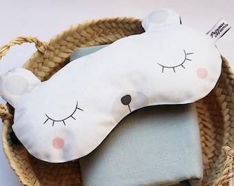 Sleeping mask * polar bear *.