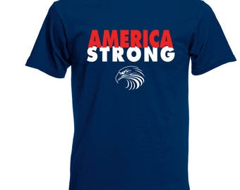 Men's America Strong Tee Stonger Together Tshirt Syrian Syria  M L XL 2XL 3XL 4XL 5XL