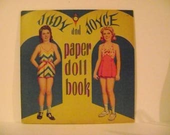 1943 Judy and Joyce Paper Doll Book