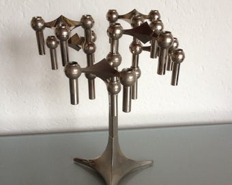 Nagel BMF candle holders on base
