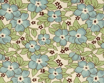 Denyse Schmidt's Old Fashioned pattern in color Hydrangea for Free Spirit - Hadley - 1 yard cut