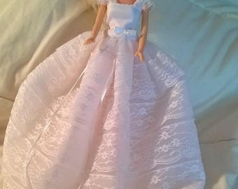 Barbie Wedding dress & veil